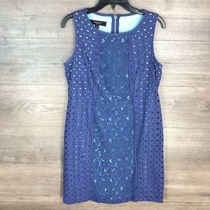3/$25🛍️ Nine West Lace Sleeveless Shift Dress